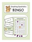 Algebra: Graphing Quadratics BINGO Game