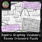 Algebra Graphing Vocabulary Review - Crossword