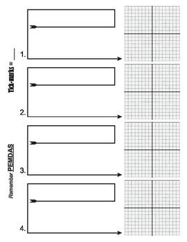 Algebra Grid Sheet