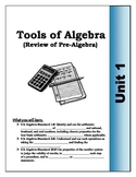 Algebra Guided Presentation Notes: Unit 1