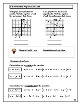 Algebra Guided Presentation Notes: Unit 5 - Graphing Linear Equations