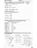 Algebra Honors Chapter 3 Test Solving Equations, Algebra P