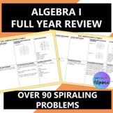 Algebra 1 End of Course (EOC) Review