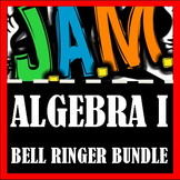 Algebra I Bell Ringer Packet Bundle (Complete School Year)