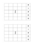 Algebra I Bingo: Basics