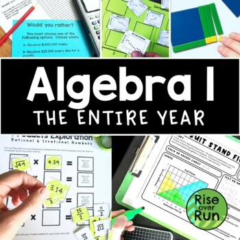 Algebra I Bundle of Engaging Resources