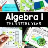 Algebra I Mega Bundle for Whole Year, Never Ending
