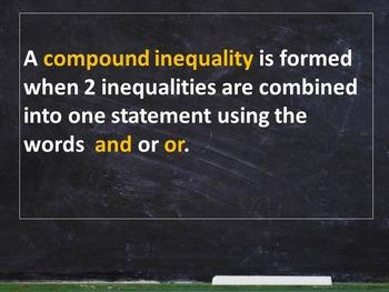 Algebra I - Inequalities - Common Core - Holt Chapter 2