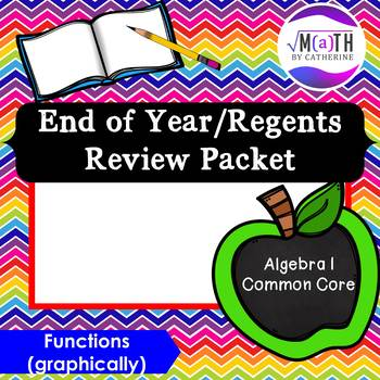Algebra I Common Core Regents Review Topic #9- Functions (graphically)