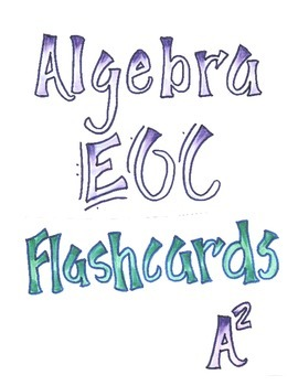 Algebra 1 NGSSS EOC Review Flashcards