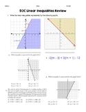 Algebra I EOC Review: Linear Inequalities Quick Check