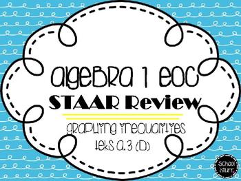 Algebra I EOC STAAR Review: Graphing Inequalities