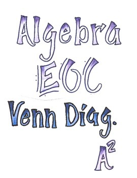 Algebra 1 EOC Test Prep and Review Venn Diagrams