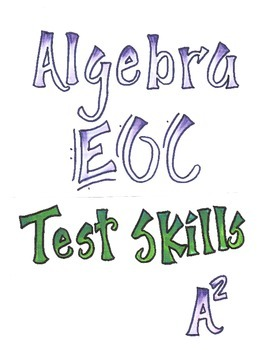 Algebra 1 EOC Test Prep and Review Test Skills