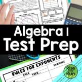End of Year: Algebra I Activities Bundle
