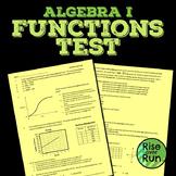 Functions Test, Common Core Algebra I