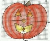 Algebra I:  Halloween Pumpkin Functions