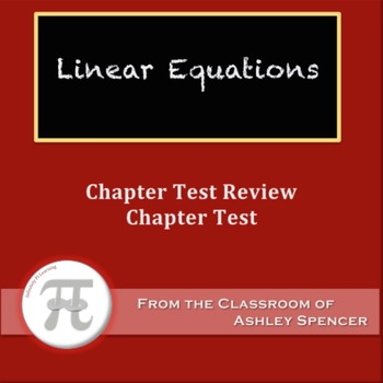 Linear Equations Test