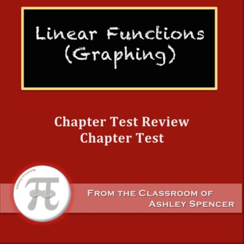 Linear Functions (Graphing) Test