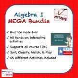 Algebra I MEGA Bundle