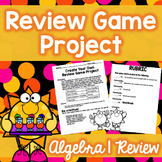 Algebra I Review Project (End of the Year)