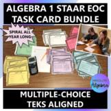 Algebra I STAAR/EOC TASK CARD Bundle