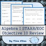 Algebra I STAAR Objective 10 Review