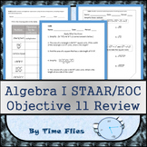 Algebra I STAAR Objective 11 Review