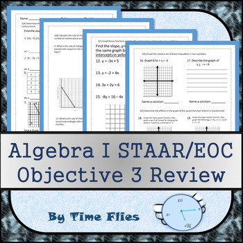 Algebra I STAAR Objective 3 Review