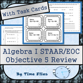 Algebra I STAAR Objective 5 Review