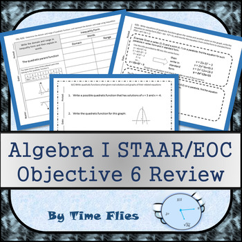 Algebra I STAAR Objective 6 Review