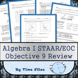 Algebra I STAAR Objective 9 Review