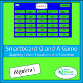 Smartboard Q and A Game - Graphing Linear Equations and Functions