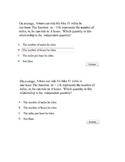Algebra I TEKS A1A - Problem Generator Templates