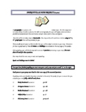 Algebra I - Writing and Graphing Linear Equations Project