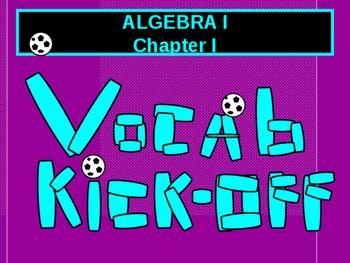 Math Lab:  Algebra I and pre-Algebra Vocabulary Kick-off