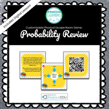 Probability Breakout Game - See Listing for Content