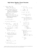 Algebra I,Board Session 15,Common Core Review,Quiz Bowl,graph inequalities