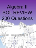 Algebra II 200 Multiple Choice SOL type questions