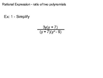 Algebra II Ch. 8.1 - Multiplying and Dividing Rational Exponents
