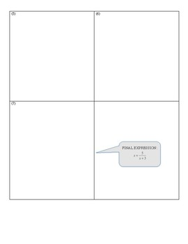 Algebra II Polynomials Review Puzzle