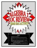 """Algebra I/Integrated I """"Grab Bag"""" Review Questions"""