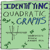 Algebra: Identifying Quadratic Graphs