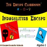 Algebra: Inequalities Escape Room | The Escape Classroom