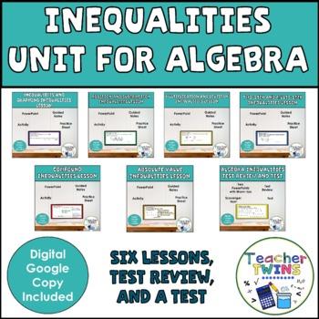 Algebra Inequalities Unit