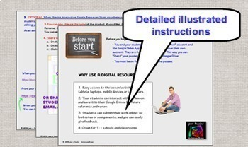 Algebra Vocabulary Interactive Digital Notebook with GOOGLE Slides
