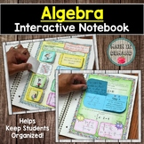 Algebra Interactive Notebook DISTANCE  LEARNING