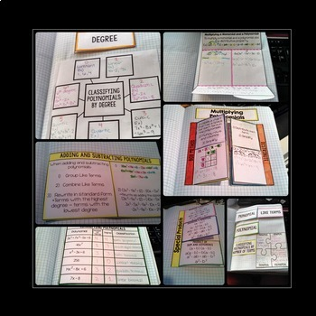 Algebra Interactive Notebook Bundle