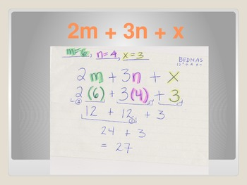 Algebra- Intermediate Math