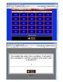Algebra Jeopardy (7 games)